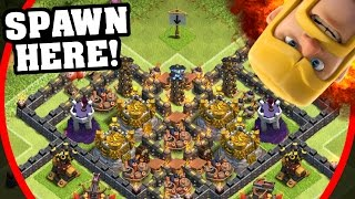 """getlinkyoutube.com-Clash Of Clans - """"The Valley Of Death 2.0"""" - Not So Epic TH11 Troll Base 2016!"""