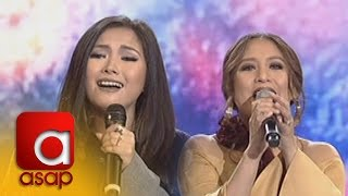 "getlinkyoutube.com-ASAP: Yeng and Jolina sing ""Friend Of Mine"""