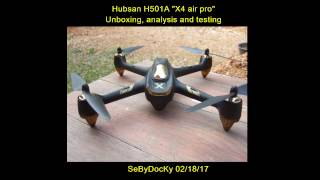 getlinkyoutube.com-Hubsan H501A unboxing, analysis and testing (Courtesy Banggood)