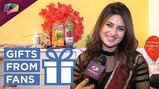 Divyanka Tripathi Dahiya receives birthday gifts from fans