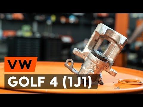 Как заменить задний тормозной суппорт VW GOLF 4 (1J1) [ВИДЕОУРОК AUTODOC]