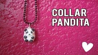 getlinkyoutube.com-Haz tu propio Collar con panditas   como hacer un collar de panda