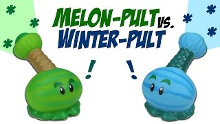 getlinkyoutube.com-Plants vs. Zombies Melon-Pult VS. Winter Melon-Pult Ball Popper Battle