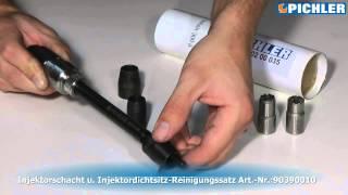 getlinkyoutube.com-UNI Reinigung eines Injektorschachts - 9038100