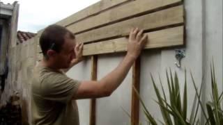 getlinkyoutube.com-Como fazer um deck de madeira em paredes
