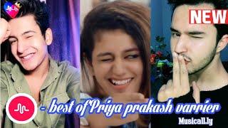 Priya prakash musical.ly part-2 Priya prakash varrier best musical.ly videos