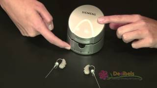 getlinkyoutube.com-How to Use Siemens Hearing Aid Battery Re-charger