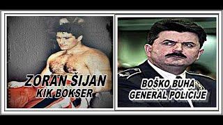 UBISTVO ZORAN ŠIJAN-KIK BOKSER I BOŠKO BUHA-GENERAL POLICIJE