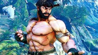 getlinkyoutube.com-Street Fighter 5 Alternate Costumes Gameplay Trailer (Ryu, Chun Li, Cammy, & M. Bison)