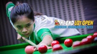 getlinkyoutube.com-Hi-end U21 Open 2015 - เบรค 65 แต้ม โดย แชมป์โลกหญิง (ใบพัด ศรีราชา)