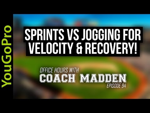 Sprints vs Jogging for VELOCITY and RECOVERY! [Office Hours with Coach Madden] Ep.94