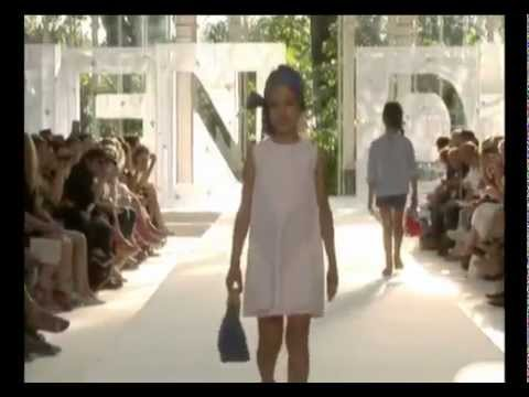 Fendi Kids Spring-Summer 2012 Fashion Show