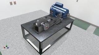 getlinkyoutube.com-Autodesk Inventor - Design Accelerator Gear Box
