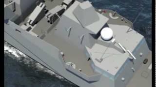 getlinkyoutube.com-DCNS -  FREMM Multi-Mission Stealth Frigate Aquitaine Walk-Through Simulation