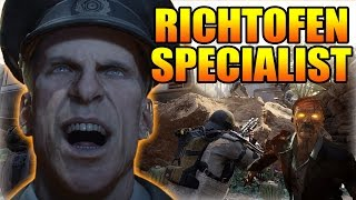 """BLACK OPS 3 """"SPECIALIST DLC CHARACTERS"""" RICHTOFEN """"RAY GUN"""" + """"TELEPORT ABILITIES?!"""