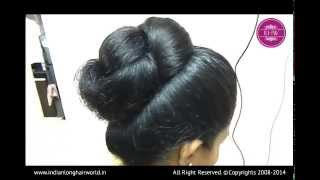 getlinkyoutube.com-ILHW Model of The Month November Kalpana Hair Styling Video