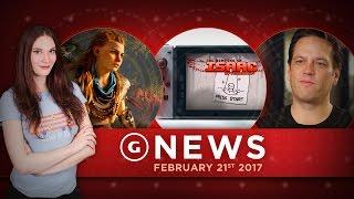 getlinkyoutube.com-Horizon Zero Dawn Day One Patch Info & Switch Loses Launch Title! - GS Daily News