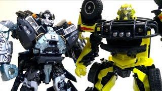 getlinkyoutube.com-【Transformers おもちゃ変形解説】MB-05 アイアンハイド & MB-06 ラチェット トランスフォーマー ムービーザベスト ヲタファのじっくり変形レビュー