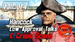 getlinkyoutube.com-Fallout 4 - Hancock - All Low Approval Talks & Crisis Scene (Hancock Leaves Forever)