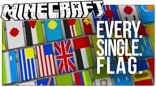 getlinkyoutube.com-This Guy Made Every Single Country's Flag In Minecraft. All 226 Of Them. (Minecraft Custom Map)