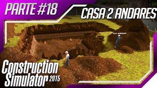 getlinkyoutube.com-Construction Simulator 2015 - Multiplayer Casa Vermelha com Jardim