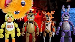 getlinkyoutube.com-Complete Set Of Five Nights at Freddy's 2 3 4 Game Toys Funko Song FNAF Funky Costumes Yowie Eggs