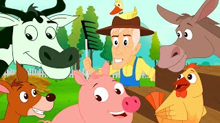 getlinkyoutube.com-Old MacDonald had a Farm | Nursery Rhyme