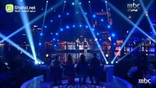 getlinkyoutube.com-Arab idol _ ahmed gamal ft. Farah yousef
