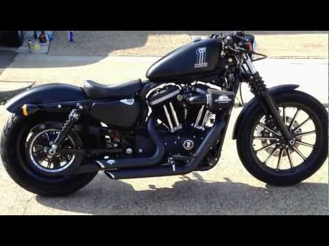 2012 Harley Davidson Iron 883 Sportster walk around