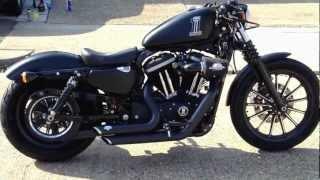 getlinkyoutube.com-Harley Davidson Iron 883 Sportster walk around