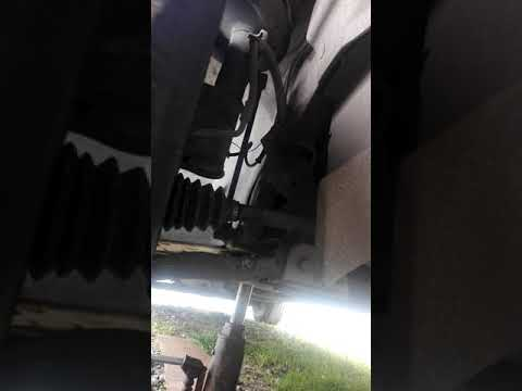 Расположение заднего ступичного подшипника в Крайслер 200