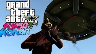 GTA 5 online Best of funny moments #9 ( Invasion alien, airbus A380, invisible, glitchs, bugs)