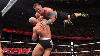 getlinkyoutube.com-John Cena vs. Cesaro - United States Championship Match: Raw, June 29, 2015