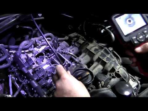 Audi Q5 2.0 TFSI замена мембраны вентиляции картерных газов + очистка катализатора.