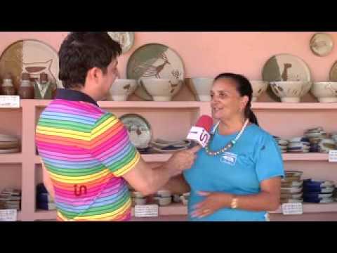 Inside TV - Rivanildo mostra a produção de peças de cerâmica em São Raimundo Nonato