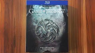 getlinkyoutube.com-GAME OF THRONES - STAFFEL 6 - Digipack (Amazon exklusiv) Blu-ray Limited Edition Unboxing [UHD]