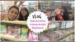 getlinkyoutube.com-Vlog: Segunda chuvosa, coisinhas de natal, Thais e Thalita Matsura