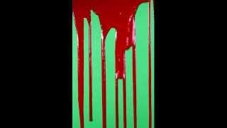 getlinkyoutube.com-Dripping Blood Green Screen HD #2