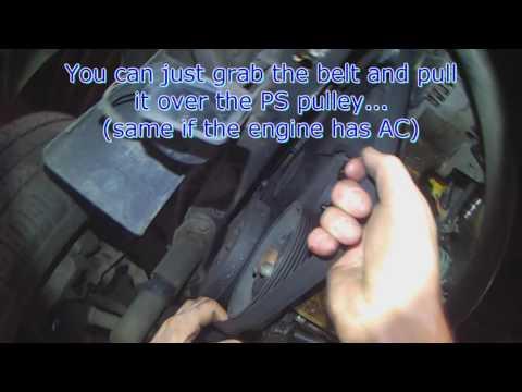 VW T4: Serpentine belt info 2.4l & 2.5L