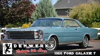 getlinkyoutube.com-1966 Ford Galaxie 7 Litre 428 Rare Survivor - Ford's 1966 Total Performance Era
