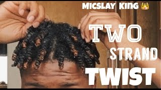 getlinkyoutube.com-HOW TO: two strand twist | Men,women