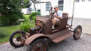 getlinkyoutube.com-Model T Ford Starts after 60+ years