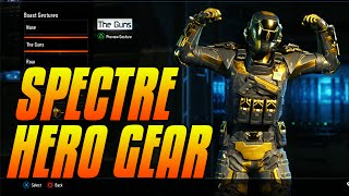 "getlinkyoutube.com-Black Ops 3 - ""SPECTRE"" HERO GEAR SET SHOWCASE - ALL SPECTRE SETS COMPLETED"