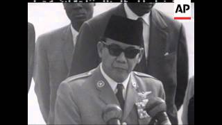 getlinkyoutube.com-President Sukarno With Kennedy - PART SOUND - 1961