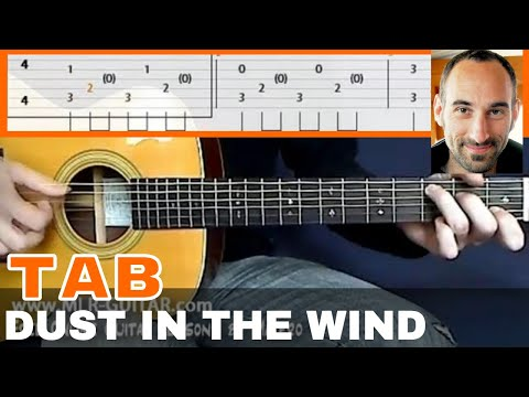 Tab &quot;Dust_In_The_Wind&quot; - MLR-Guitar Lessons