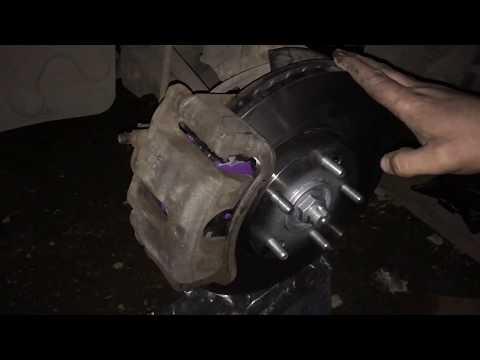 Замена передних тормозных дисков IX35 2WD ЧАСТЬ2.