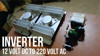 getlinkyoutube.com-Cara Membuat Rangkaian Inverter DC 12V to AC 220V - Tutorial Video