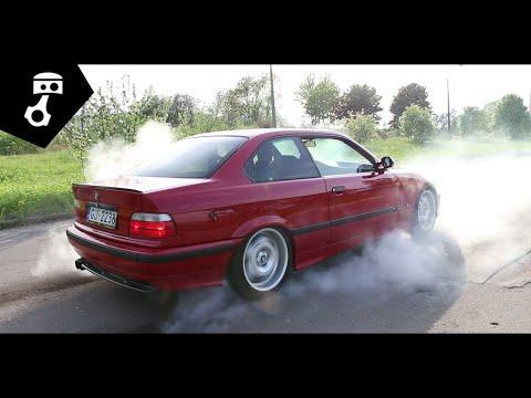 BMW 328i бE36ашенная, модификации и дым 2; zhmuraTV