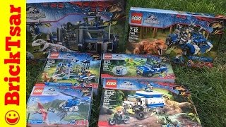 getlinkyoutube.com-LEGO Jurassic World HAUL! New 2015 sets!