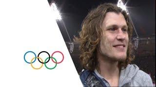 getlinkyoutube.com-Ivan Ukhov (RUS) Wins High Jump Gold - London 2012 Olympics